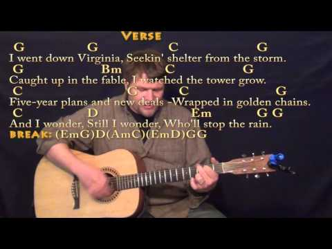 Download Who'll Stop the Rain (CCR) Strum Guitar Cover Lesson with ChordsLyrics free