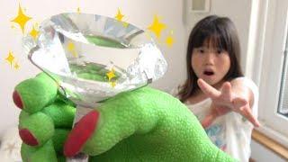 ドロボー!! 大きなダイヤが盗まれた!? お遊戯 こうくんねみちゃん Thief Giant Diamond was stolen