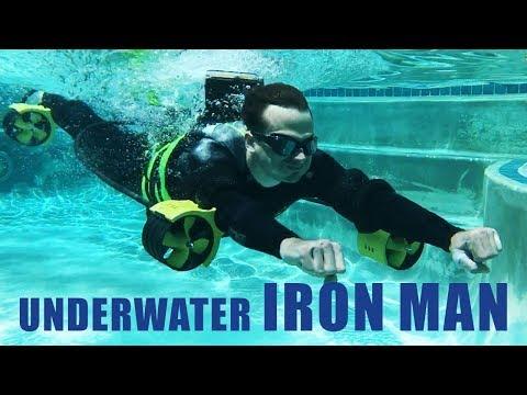 Underwater IRONMAN JETPACK