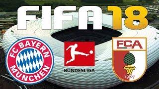 FIFA 18 - 2017-18 BUNDESLIGA - BAYERN MUNICH vs AUGSBURG