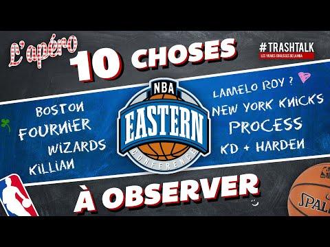 10 choses à observer sur la fin de saison NBA 2020 21 Conférence Est