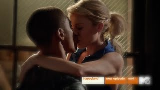 Faking It 2x05 Lauren and Theo First Kiss Scene