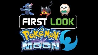FIRST LOOK at Pokemon Moon