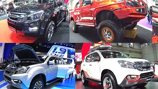 TOP  2016, 2017 Isuzu SUVs Isuzu MU-X VS Isuzu D-MAX custom modify 2016, 2017 model