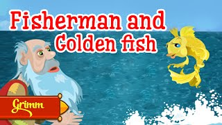 Fairy Tales | The Tale of the Fisherman and the Fish | Watch Cartoons Online English Subtitles