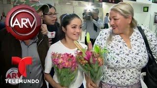 Quinceañera Rubí llega a México como una celebridad | Al Rojo Vivo | Telemundo