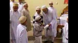 Hamza Khambati reciting maulana Husein shahadat in Calgary Jamat Muharram 2013
