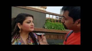 Rj Animesh with Pallavi Chatterjee