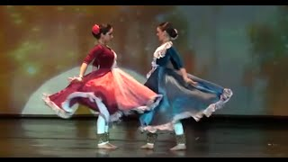 Indian Classical Kathak & Flamenco fusion dance by Svetlana Tulasi & Yulia (music by Indialucia)