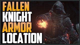 Dark Souls 3: Fallen Knight Armor Location And Showcase
