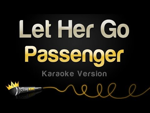 Passenger - Let Her Go (Karaoke Version)
