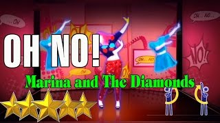 OH NO - MARINA AND THE DIAMONDS | Just Dance 4 | Best Dance Music