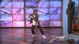Jaden Smith dances on Ellen