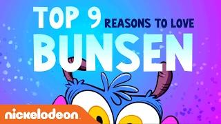 Bunsen is a Beast | Top 9 Reasons to Love Bunsen | Nick