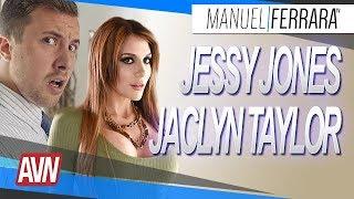 Jaclyn Taylor et Jessy Jones - AVN Expo 2018 avec Nephael