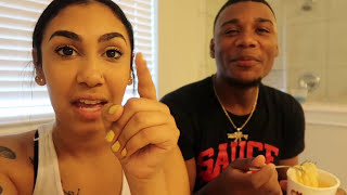 CAUGHT SLIPPING WITH AR'MON PRANK ON TREY!!! (MAD FUNNY)