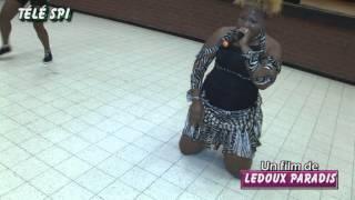 Jocelyne Biz-Ar en cascadeuse (Télé SPI) par Ledoux paradis (a)