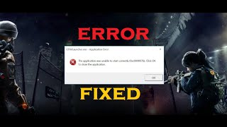 How to Fix Error 0xc00007b in Windows 10/8.1/8/7 (Best Method) [100% Solved]