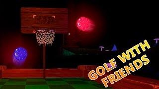 GOLF + BALONCESTO?!?!? | Con Exo | Golf with friends | Sarinha