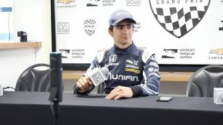 Esteban Gutierrez Road America News Conference