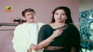 old actress lakshmi sexy navel show..