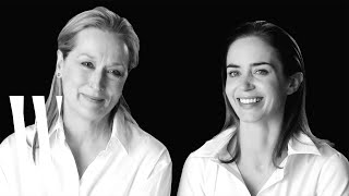 Meryl Streep and Emily Blunt Confess Their Surprising Crushes | Screen Tests 2015