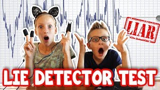 SIS vs BRO TAKE A LIE DETECTOR TEST!!!!