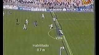 Racing 0 - Rosario Central 1 (Apertura 2005)