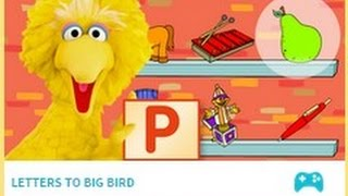 Letters to big bird sesame street