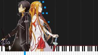 How to play Yume Sekai (Ending 1) by Sword Art Online on Piano Sheet Music