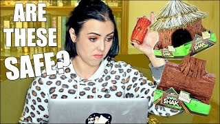 ARE THESE SAFE FOR HAMSTERS? | I AM UPSET | Ecotrition Snak Shak