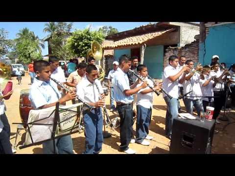 La Peinada con Banda Caimanera de Zomatlan Nayarit