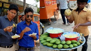 Aam or Sour Mango with naam jim recipe# Tasty Masala aam or spicy mix green mango fruits of Dhaka