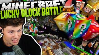 ENDERDRACHE IM FINALE GESPAWNT | Minecraft LUCKY BLOCK BATTLE 2 #34 | Dner