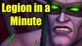 World of Warcraft Legion in a Minute by Wowcrendor (WoW Machinima)
