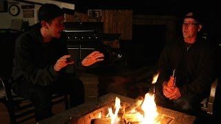 SCARY STORIES AROUND THE FIRE!