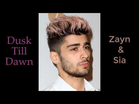 ZAYN Dusk Till Dawn ft. Sia Lyrics Lyric Video 🔥🔥 Pop Radio Edit 2017 HD