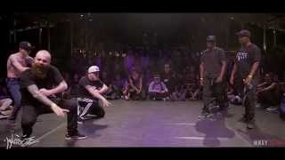 IIB 2015 100% KRUMP /  FINAL TEAMS BATTLE :  RUSSIA vs FRANCE