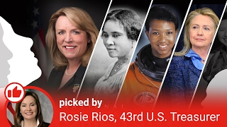Super Women of our Past: Treasurer Rios Introduction