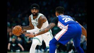 Celtics rout 76ers in NBA season opener; Kyrie, Hayward return