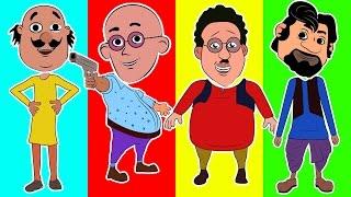 Wrong Heads Motu Patlu in Hindi trolls Ghasitaram vs Chingam Finger Family Song Nursery Rhymes