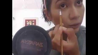 Zara Zya kongsi tutorial cara makeup ala artis | natural dan cantik