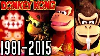 Donkey Kong ALL INTROS 1981-2015 (Wii U, N64, SNES, Arcade)