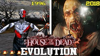 THE HOUSE OF THE DEAD GAMES - EVOLUTION (1996 - 2018) - EVOLUCIÓN HD