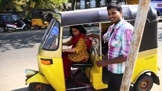 Sarah Drives an Auto Rickshaw