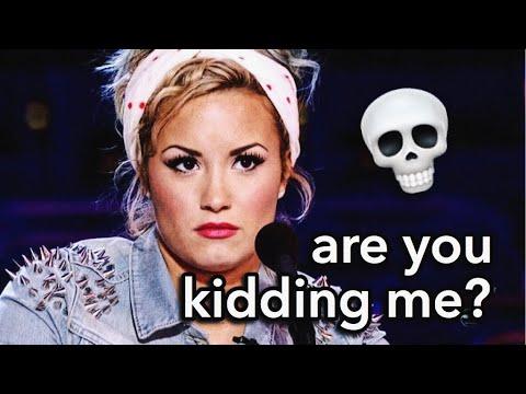 WORST INTERVIEWS DEMI LOVATO'S BEEN IN | Lovato Gallery