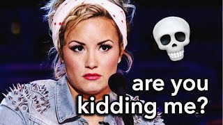 DEMI LOVATO'S WORST INTERVIEWS (Rude/Awkward Interviewers)| Lovato Gallery