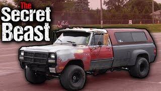 Imagine Farmtruck, Except as a Diesel 4x4! CUMMINS SUPER SLEEPER