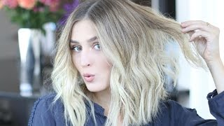 HOW TO STYLE A 'LOB' | Easy Voluminous & Tousled Waves