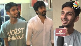 Anirudh, Sivakarthikeyan at Remo FDFS Kasi Theatre : Senjitaley was a mass hit | Interview